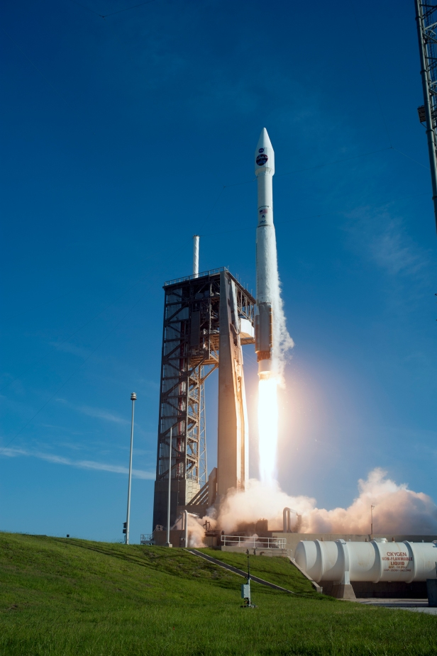 TDRS-M Liftoff